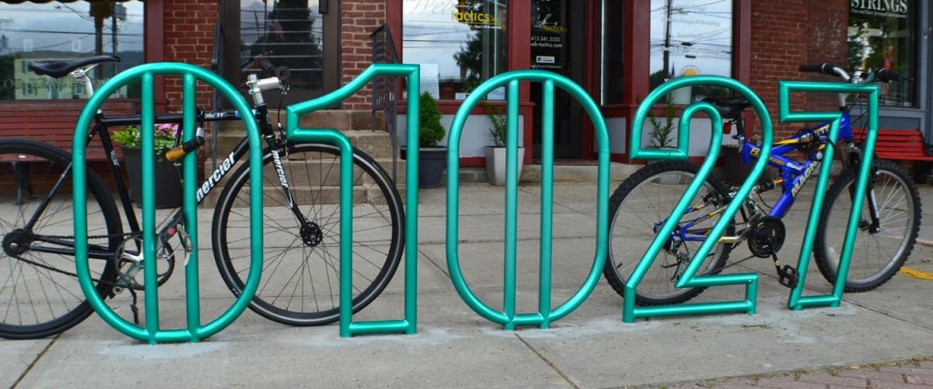 01027 Sculptural Bike Rack